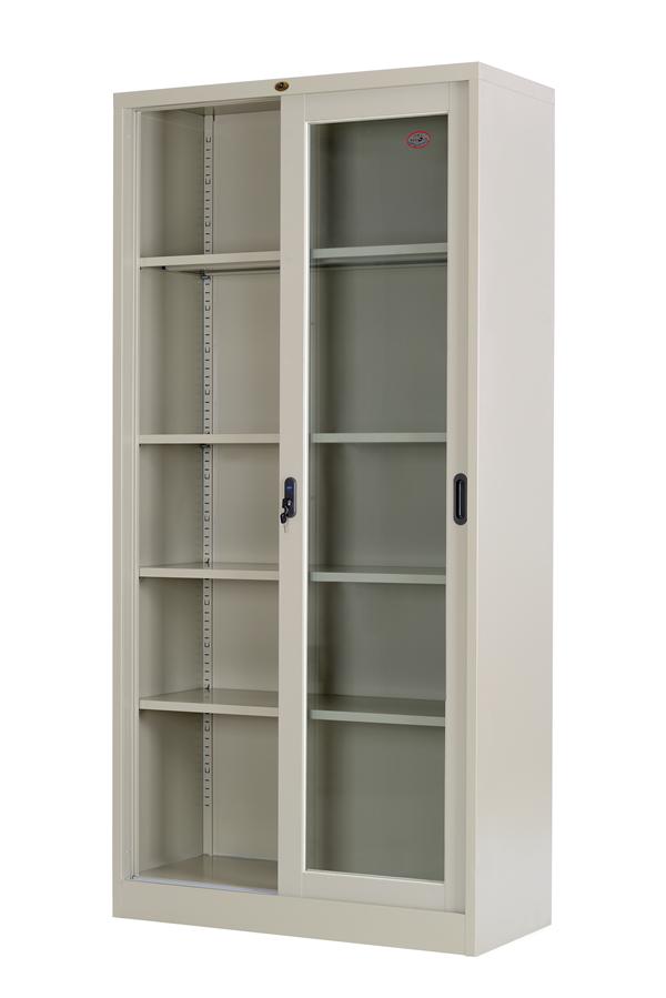 Sliding Glass Door Cabinet Steel Cabinet Luoyang Lightgroupoffice